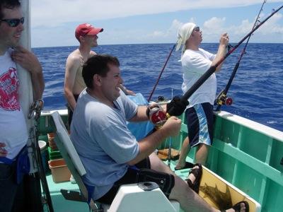 Okinawa deep sea fishing charters for Deep sea fishing seattle